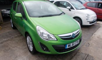 VAUXHALL CORSA 1.2 EXCITE, 5DR, H/B, GREEN MET, LOW MILES, CORNISH, VERY CLEAN EXAMPLE full