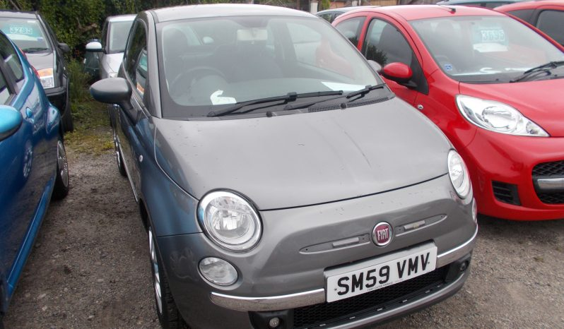 FIAT 500 1.2 SPORT, 3DR, H/B, GREY MET, HALF LEATHER, 52000 MILES ONLY, £30 ROAD TAX full