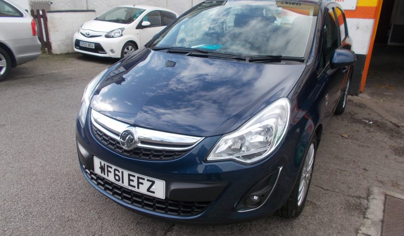 VAUXHALL CORSA 1.4 EXCITE, 5DR, H/B, BLUE MET, LOW MILES, VERY CLEAN EXAMPLE full