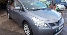 Toyota Verso 2.2D-CAT ( 7st ) auto 2011MY T Spirit, 5DR, H/B, BLUE MET, LOW MILES, VERY CLEAN EXAMPLE, 7 SEATER, HALF LEATHER, PANORAMIC ROOF, REVERSING CAMERA AND REVERSING SENSORS
