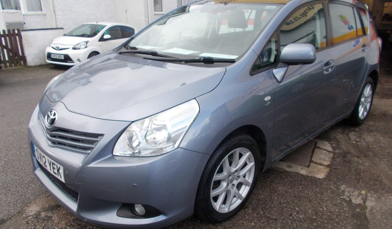 Toyota Verso 2.2D-CAT ( 7st ) auto 2011MY T Spirit, 5DR, H/B, BLUE MET, LOW MILES, VERY CLEAN EXAMPLE, 7 SEATER, HALF LEATHER, PANORAMIC ROOF, REVERSING CAMERA AND REVERSING SENSORS full