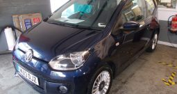 Volkswagen up! 1.0 ( 75ps ) BlueMotion Tech 2013MY High Up, 3DR, H/B, BLUE MET, VERY CLEAN EXAMPLE, £0 ROAD TAX