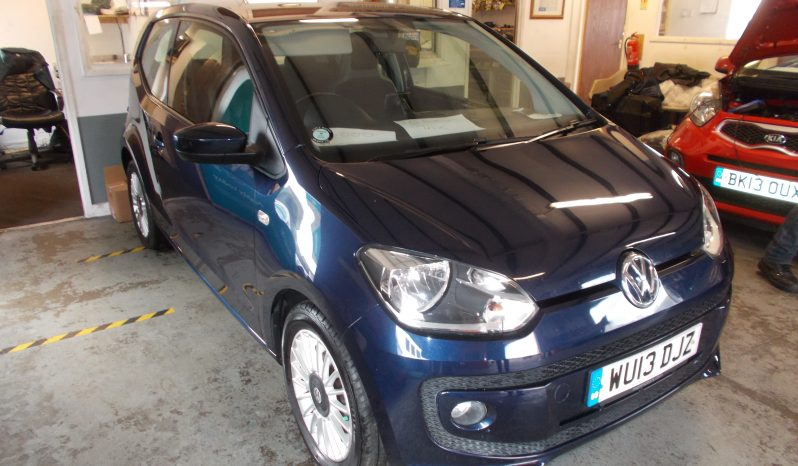 Volkswagen up! 1.0 ( 75ps ) BlueMotion Tech 2013MY High Up, 3DR, H/B, BLUE MET, VERY CLEAN EXAMPLE, £0 ROAD TAX full