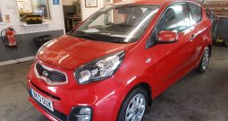 KIA PICANTO 1.0 CITY, 3DR, H/B, RED MET, LOW MILES, £0 ROAD TAX