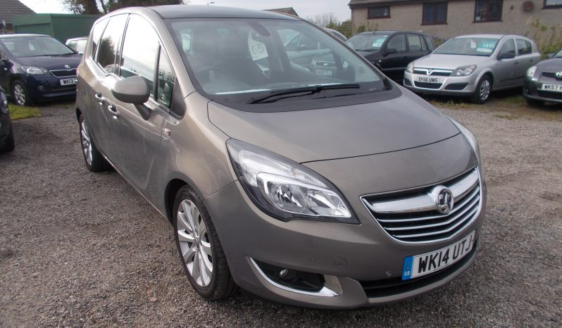 Vauxhall/Opel Meriva 1.4i 16v ( 120ps ) Auto 2014.5MY SE, 5DR, MPV, BRONZE MET, 46000 MILES ONLY, CORNISH full