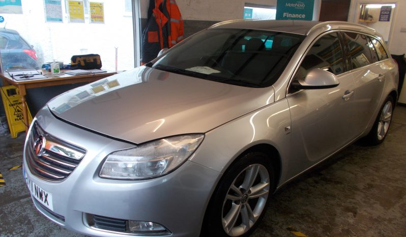 VAUXHALL INSIGNIA 2.0 CDTI SRI, 5DR, ESTATE, SILVER MET VERY CLEAN EXAMPLE full