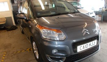 CITROEN C3 PICASSO 1.6 HDI EXCLUSIVE, 5DR, H/B, GREY MET, 43000 MILES ONLY, £30 ROAD TAX full