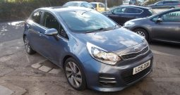 KIA RIO 1.4 CRDI 3, 5DR, H/B, £0 ROAD TAX, 49000 MILES ONLY, VERY CLEAN EXAMPLE