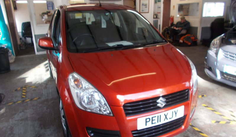SUZUKI SPLASH 1.0 GLS, 5DR, H/B, ORANGE MET, LOW MILES, £30 ROAD TAX full