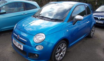 FIAT 500 1.2 S, 3DR, H/B, ELECTRIC BLUE MET, 37000 MILES ONLY, £30 ROAD TAX, REAL EYE CATCHER, VERY CLEAN EXAMPLE full