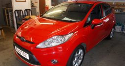 FORD FIESTA 1.4 ZETEC 5DR, H/B, RED, LOW MILES, VERY CLEAN EXAMPLE