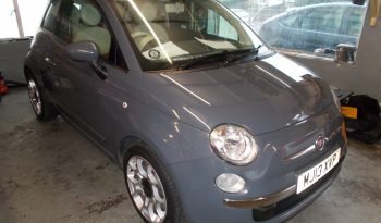 FIAT 500 1.2 LOUNGE, 3DR, H/B, GREY, 49000 MILES ONLY, £30 ROAD TAX, VERY CLEAN EXAMPLE full