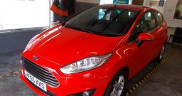 FORD FIESTA 1.0 ECOBOOST ZETEC, 3DR, H/B, RED, LOW MILES, £0 ROAD TAX, VERY CLEAN EXAMPLE