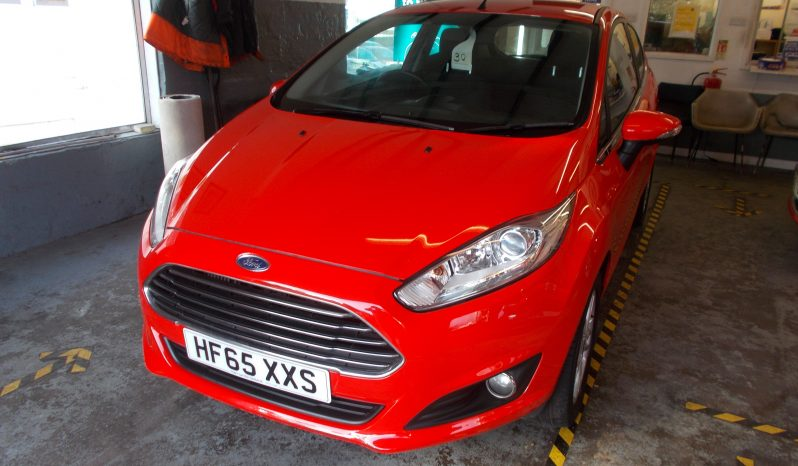 FORD FIESTA 1.0 ECOBOOST ZETEC, 3DR, H/B, RED, LOW MILES, £0 ROAD TAX, VERY CLEAN EXAMPLE full