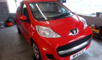 PEUGEOT 107 1.0 URBAN, 5DR, H/B, RED, 53000 MILES ONLY, £20 ROAD TAX, VERY CLEAN EXAMPLE full
