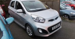 KIA PICANTO 3 1.2, 5DR, H/B SILVER MET, 32000 MILES ONLY, £20 ROAD TAX