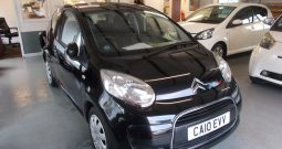 CITROEN C1 VTR PLUS, 3DR, H/B, BLACK MET, LOW MILES, £20 ROAD TAX, VERY CLEAN EXAMPLE