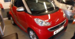 SMART FOURTWO 1.0 AUTO PASSION, 2DR, CONVERTABLE, RED, 39000 MILES ONLY, VERY CLEAN EXAMPLE
