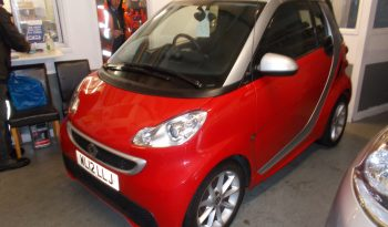 SMART FOURTWO 1.0 AUTO PASSION, 2DR, CONVERTABLE, RED, 39000 MILES ONLY, VERY CLEAN EXAMPLE full