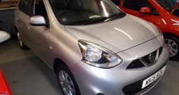NISSAN MICRA 1.2 ACENTA, 5DR, H/B, SILVER MET, £30 ROAD TAX, 36000 MILES ONLY, VERY CLEAN EXAMPLE