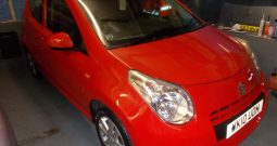 SUZUKI ALTO 1.0 SZ4, 5DR, H/B, RED, 31000 MILES ONLY, £20 ROAD TAX, VERY CLEAN EXAMPLE