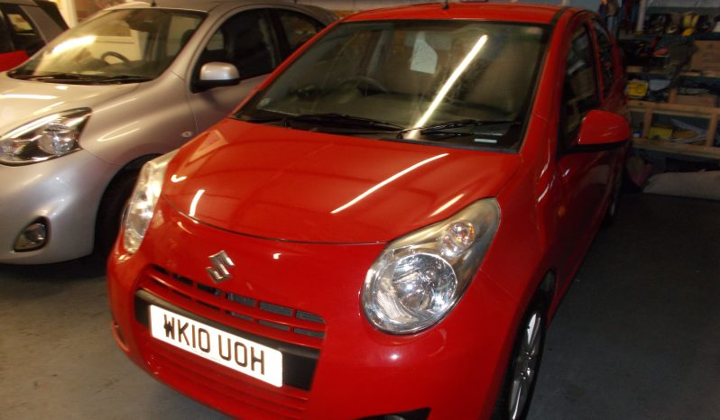 SUZUKI ALTO 1.0 SZ4, 5DR, H/B, RED, 31000 MILES ONLY, £20 ROAD TAX, VERY CLEAN EXAMPLE full