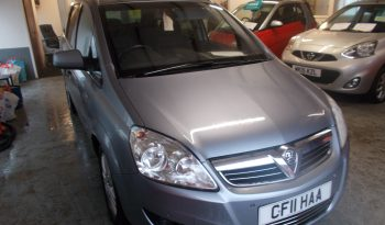 VAUXHALL ZAFIRA 1.7 CDTI ELITE ECOFLEX, 5DR, H/B, 7 SEATER, SILVER MET, FULL LEATHER, VERY CLEAN EXAMPLE, LOW MILES full