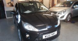 FORD KA 1.2 METAL, 3DR, H/B, BLACK MET, 41000 MILES ONLY, VERY CLEAN EXAMPLE, £30 ROAD TAX