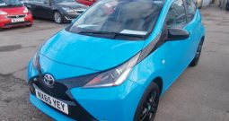 TOYOTA AYGO 1.0 X-CITE2, 5DR, H/B, BLUE, 46000 MILES ONLY, £0 ROAD TAX, VERY CLEAN EXAMPLE