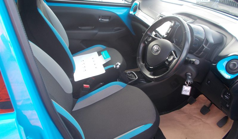TOYOTA AYGO 1.0 X-CITE2, 5DR, H/B, BLUE, 46000 MILES ONLY, £0 ROAD TAX, VERY CLEAN EXAMPLE full