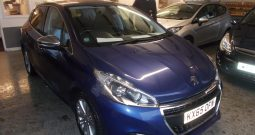 PEUGEOT 208 1.6 BLUEHDI ALLURE, 5DR, H/B, BLUE MET, 15000 MILES ONLY, £0 ROAD TAX