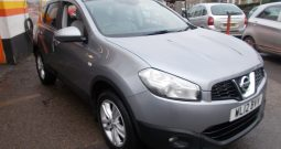 NISSAN QASHQAI 1.5 DCI ACENTA, 5DR, H/B, GREY MET, LOW MILES, VERY CLEAN EXAMPLE