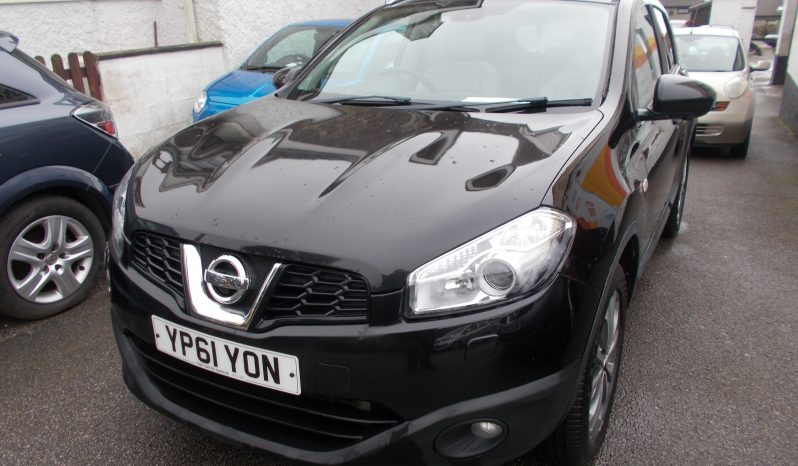 NISSAN QASHQAI 2.0 DCI AUTO TEKNA 4X4, 5DR, H/B, BLACK MET, FULL CREAM LEATHER, TOP OF THE RANGE, PANORAMIC ROOF full