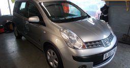 NISSAN NOTE 1.4 SE, 5DR, H/B, SILVER MET, 49000 MILES ONLY, VERY CLEAN EXAMPLE