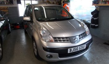NISSAN NOTE 1.4 SE, 5DR, H/B, SILVER MET, 49000 MILES ONLY, VERY CLEAN EXAMPLE full