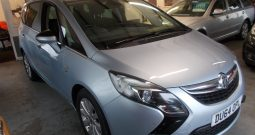 VAUXHALL ZAFIRA TOURER 2.0 CDTI SE, 5DR, H/B, BLUE MET, 7 SEATER, HALF LEATHER, VERY CLEAN EXAMPLE
