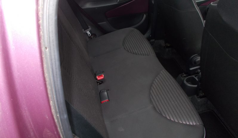 PEUGEOT 107 1.0 ACTIVE, 5DR, H/B, PURPLE MET, 41000 MILES ONLY, £0 ROAD TAX, VERY CLEAN EXAMPLE full