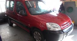CITROEN BERLINGO 1.6 HDI FIRST, 5DR, H/B, RED MET, 41000 MILES ONLY, VERY CLEAN EXAMPLE