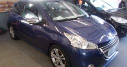 PEUGEOT 208 1.6 E-HDI ALLURE, 3DR, H/B, BLUE MET, 66000 MILES ONLY, £0 ROAD TAX, VERY CLEAN EXAMPLE