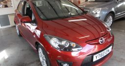 MAZDA 2 1.3 TAKUYA, 5DR, H/B, RED MET, LOW MILES, VERY CLEAN EXAMPLE