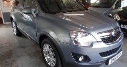 VAUXHALL ANTARA 2.2 CDTI EXCLUSIV, 5DR, H/B, BLUE MET, 56000 MILES ONLY, HALF LEATHER, VERY CLEAN EXAMPLE