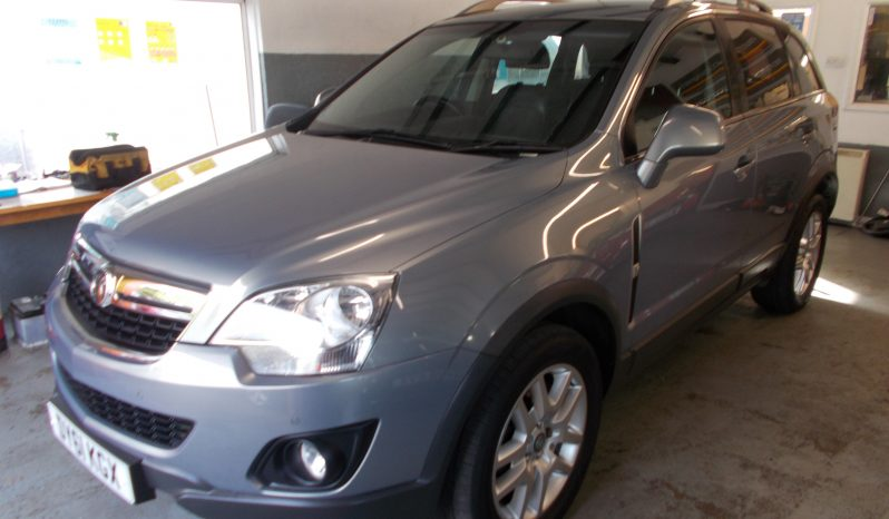 VAUXHALL ANTARA 2.2 CDTI EXCLUSIV, 5DR, H/B, BLUE MET, 56000 MILES ONLY, HALF LEATHER, VERY CLEAN EXAMPLE full