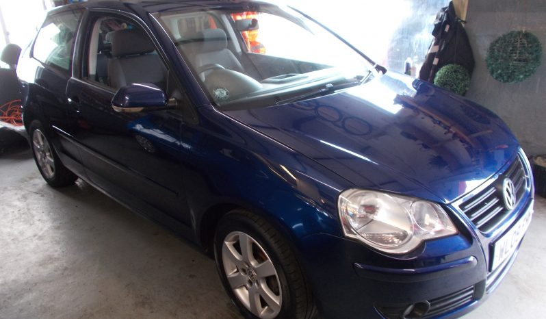 VOLKSWAGEN POLO 1.4 MATCH, 3DR, H/B, BLUE MET, 69000 MILES ONLY, VERY CLEAN EXAMPLE full