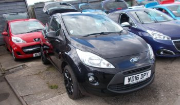 FORD KA 1.2 BLACK EDITION, 3DR, H/B, BLACK MET, 17000 MILES ONLY, £30 ROAD TAX, VERY CLEAN EXAMPLE full