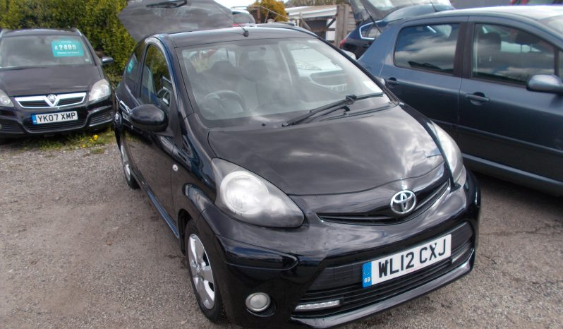 TOYOTA AYGO 1.0 FIRE, 3DR, H/B, BLACK MET, LOW MILES, £0 ROAD TAX, VERY CLEAN EXAMPLE full