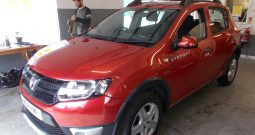 DACIA STEPWAY 1.5 DCI AMBIANCE, 5DR, H/B, RED MET, £20 ROAD TAX, VERY CLEAN EXAMPLE