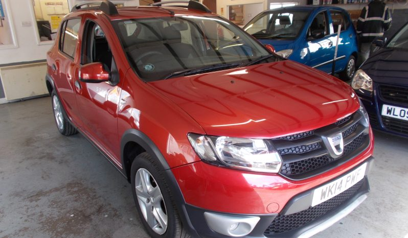 DACIA STEPWAY 1.5 DCI AMBIANCE, 5DR, H/B, RED MET, £20 ROAD TAX, VERY CLEAN EXAMPLE full