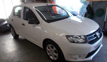 DACIA SANDERO 1.2 AMBIANCE, 5DR, H/B, WHITE, 52000 MILES ONLY, VERY CLEAN EXAMPLE full