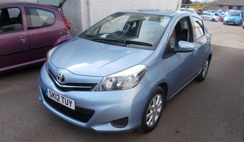 TOYOTA YARIS 1.33 TR, 5DR, H/B, ICE BLUE MET, 51000 MILES ONLY, VERY CLEAN EXAMPLE full