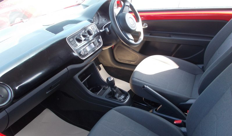 VW MOVE UP 1.0 BLUEMOTION, 3DR, H/B, RED, LOW MILES, £0 ROAD TAX, VERY CLEAN EXAMPLE full